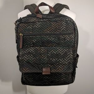 fossil field tz backpack camouflage SBG1056346
